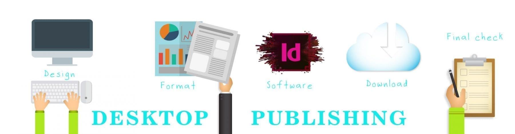 dtp services - desktop publishing services
