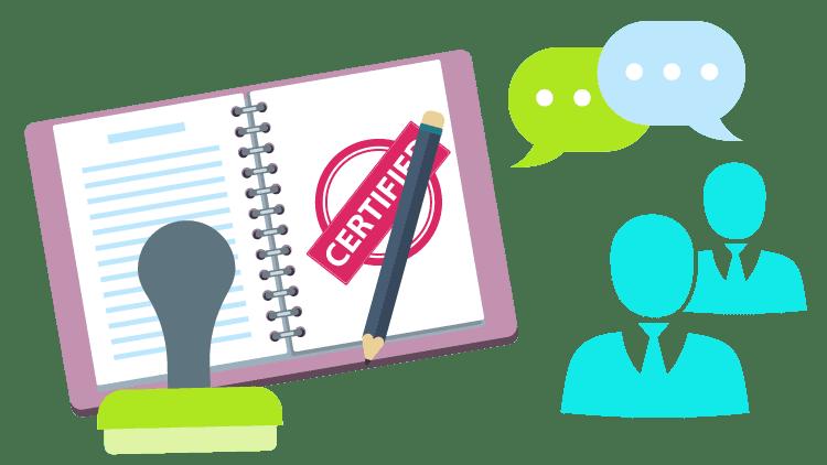 legal translation certification
