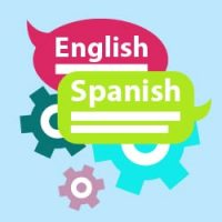 English and Spanish