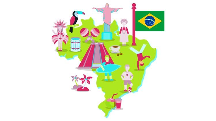 Brazil Language History